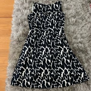 Ann Taylor dress - B&W